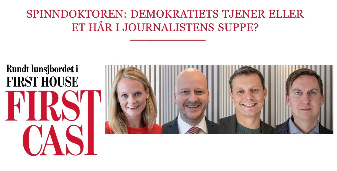 First Cast 05.03.21 - Spinndoktoren: demokratiets tjener eller et hår i journalistens suppe?