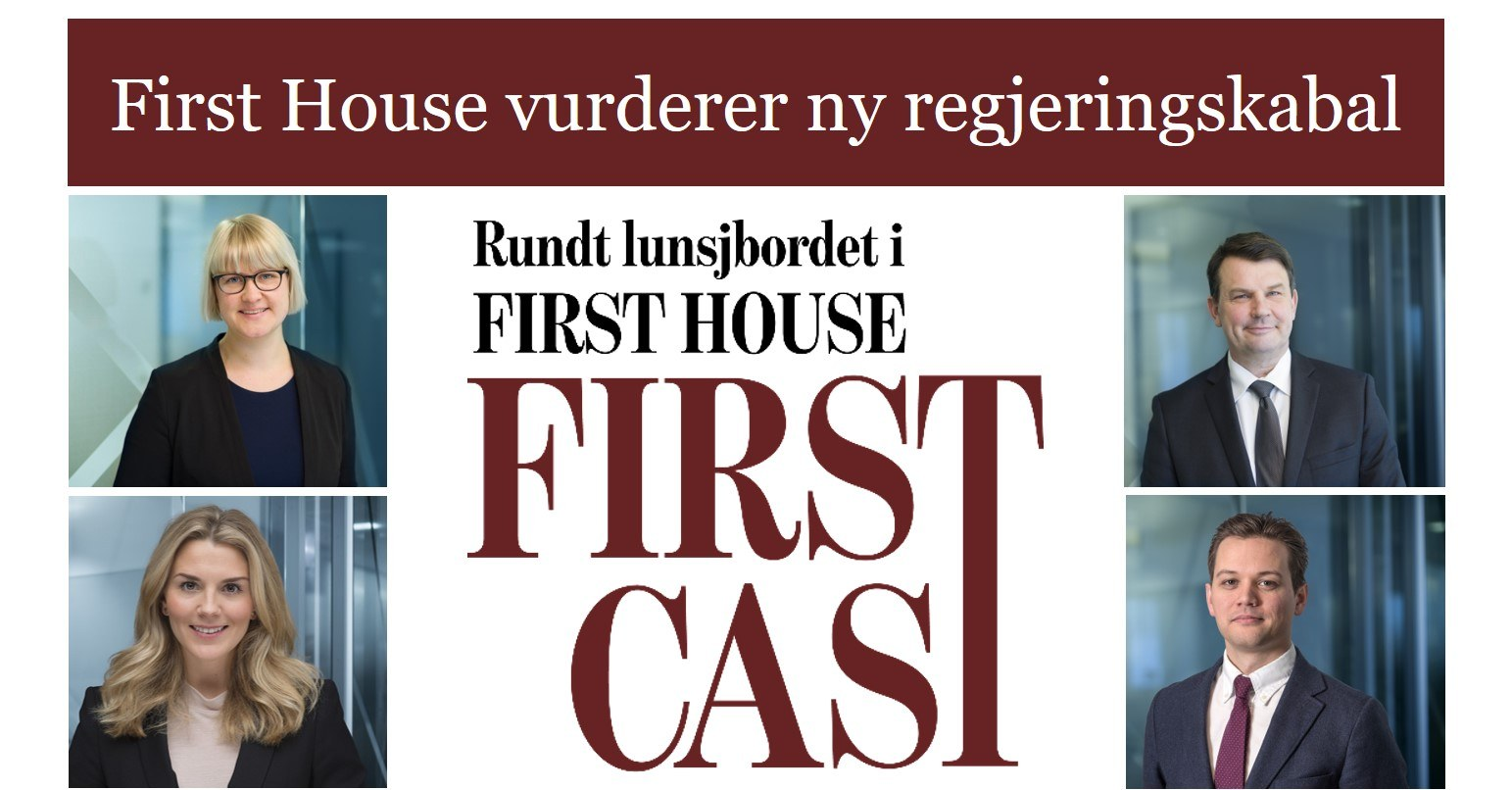 First Cast 17.01.18 - First House vurderer ny regjeringskabal